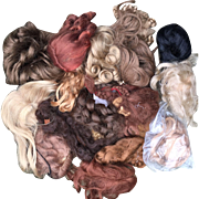 Bag of Doll Wigs