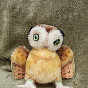 Vintage Steiff Wittie Owl