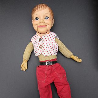 Vintage Willie Talks Ventiloquist Doll