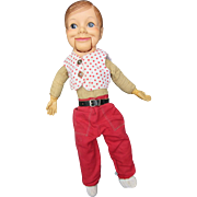 Vintage Willie Talks Ventiloquist Doll
