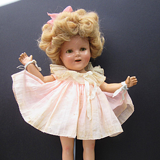 Vintage composition Ideal Shirley Temple in Original Outfit