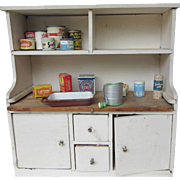 Vintage Doll's Hoover Kitchen Cabinet