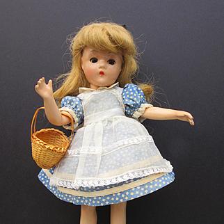 Vintage 1940 Madame Alexander Alice in Wonderland