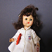 Vintage ML Bent Leg Ginny in Nurse Outfit