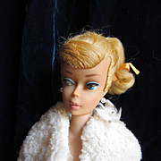 Vintage 1964 blonde Swirl ponytail Barbie