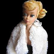 Vintage 1964 blonde Swirl ponytail Barbie