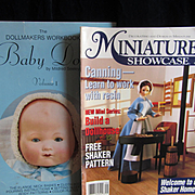Three Doll Making and Repair Books