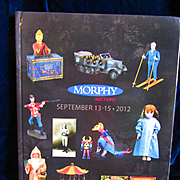 Morphy Hardcover Catalog of Dolls and Toys