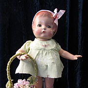 Vintage Effanbee Patsy in Original Dress