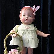 Vintage Effanbee Patsy in Original Dress