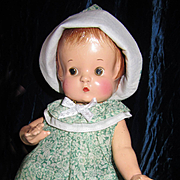 Vintage Effanbee Patsy in older dress