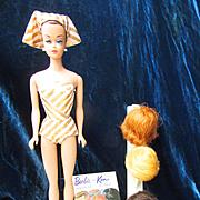 Vintage Mattel Barbie Fashion Queen Complete and Excellent