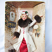 1995 Holiday Memories Barbie in 1910 outfit in Original Box