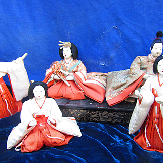 Japanese Girls Day Festival Dolls