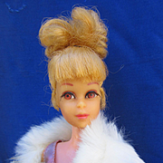 Vintage Barbie's Cousin Francie with Up-do Hair