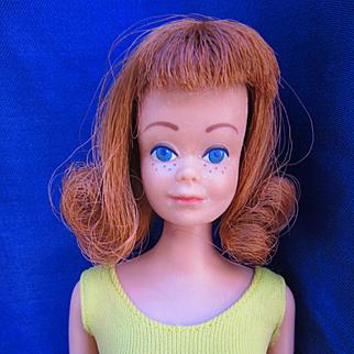 Vintage Mattel Midge doll in Original Swimsuit
