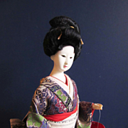 Striking Japanese Geisha 16.5 inches