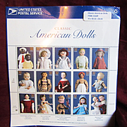 United States Post Office Doll Stamps