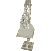 Absolutely Stunning Lamp Encrusted with Vintage Rhinestones