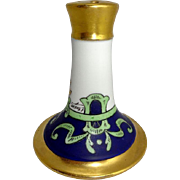 Antique Limoges Stouffer Hat Pin Holder Hand Painted Artist Signed