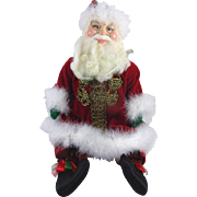 Retired Katherine's Collection Father Christmas Designed by Kleski NIB