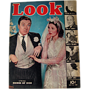 Look Magazine May Brides of 1938 Cover Vintage Periodical / Vintage Magazine 1930s / Gossip Magazine / Photographic Magazine