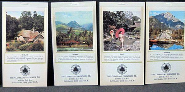 Vintage Calendars with World Scenes