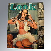 Look Magazine 1938 Vintage Magazine
