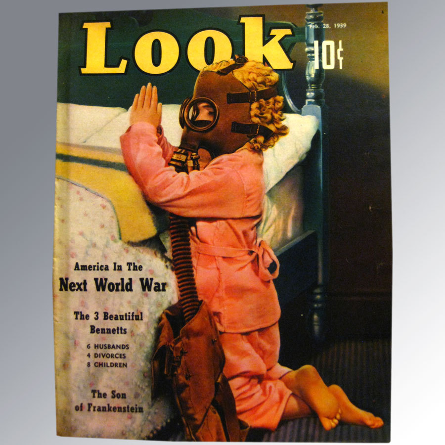 Look Magazine 1939 Vintage Periodical