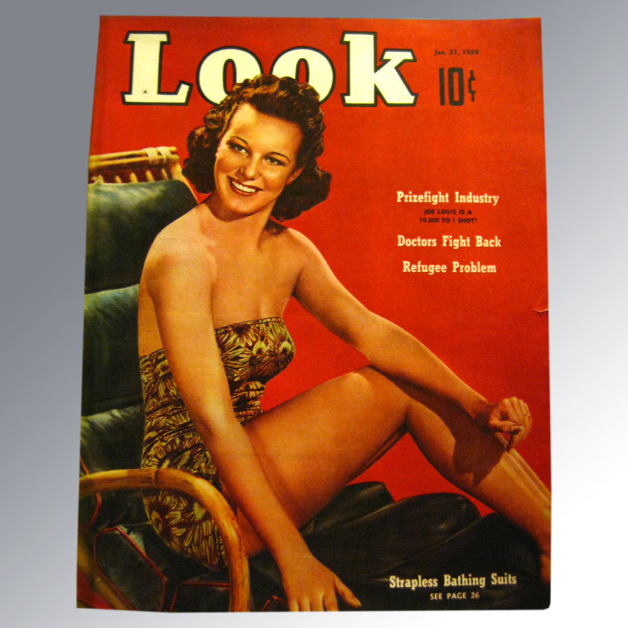 Look Magazine January 1939 Swim Suit Issue