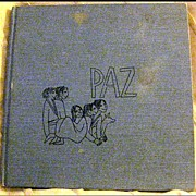 PAZ -- Vintage Book by Cheli Duran Ryan