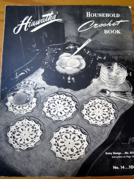 Household Crochet Book -- Hiawatha 1945
