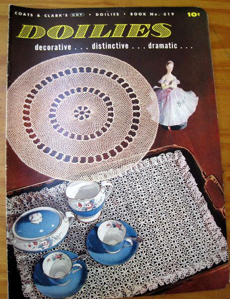 Doilies - Vintage Pattern Book 1955