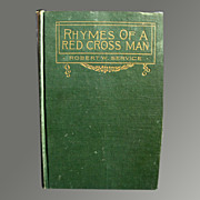 Rhymes of a Red Cross Man - Vintage Book of WWI Poems 1915