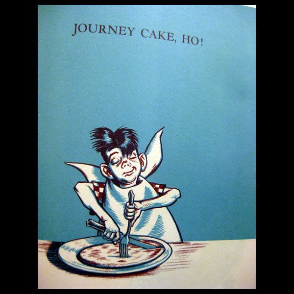 Journey Cake, Ho! - Robert McCloskey Illustrator