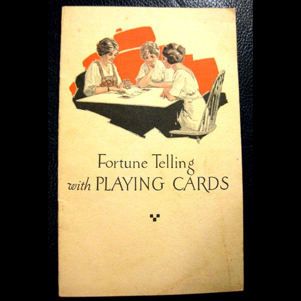 US Playing Card -- How To Tell Fortunes Pamphlet