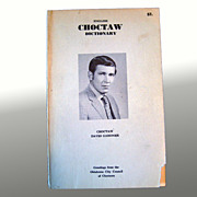 English Choctaw Dictionary - Oklahoma City Council of Choctaws 1976