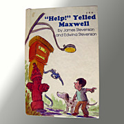 Help Yelled Maxwell Vintage Childrens Book