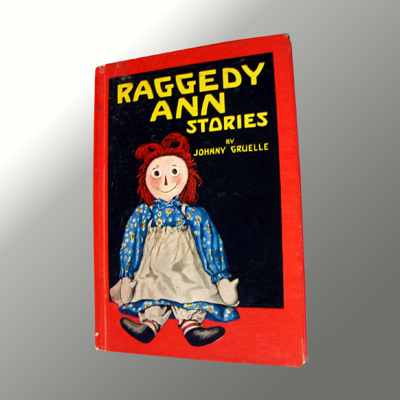 Raggedy Ann Stories Vintage Childrens Book 1961 Johnny Gruelle