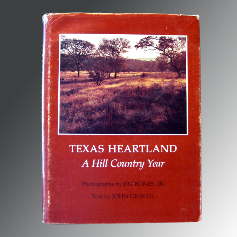 Texas Heartland A Hill Country Year Texas Photography Vintage Book 1970s Nature Photography