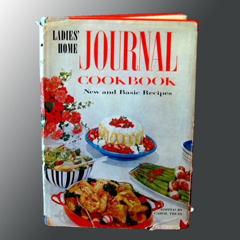 Vintage Cookbook Ladies Home Journal Cook Book 1960s 1st Edition Kitchen Recipes Home Decorating