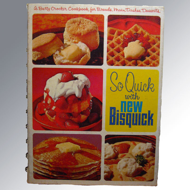 So Quick With New Bisquick / Vintage Cookbook / Cook Book / Advertising