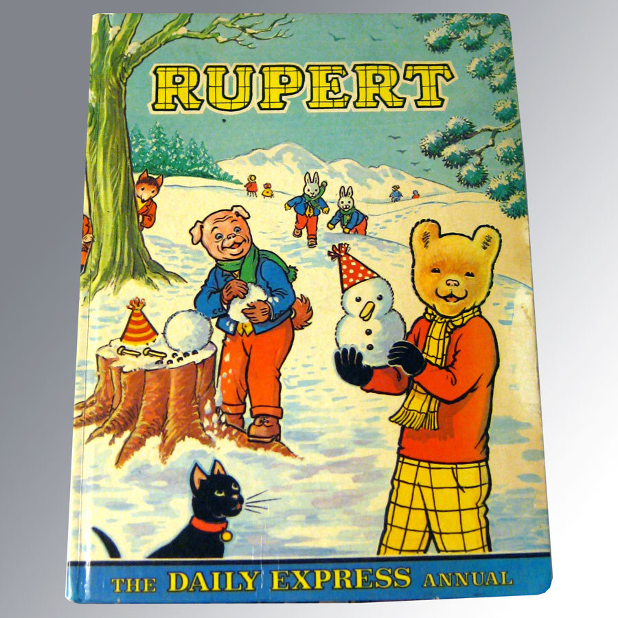 Rupert The Daily Express Annual 1974 Vintage Cartoon Book