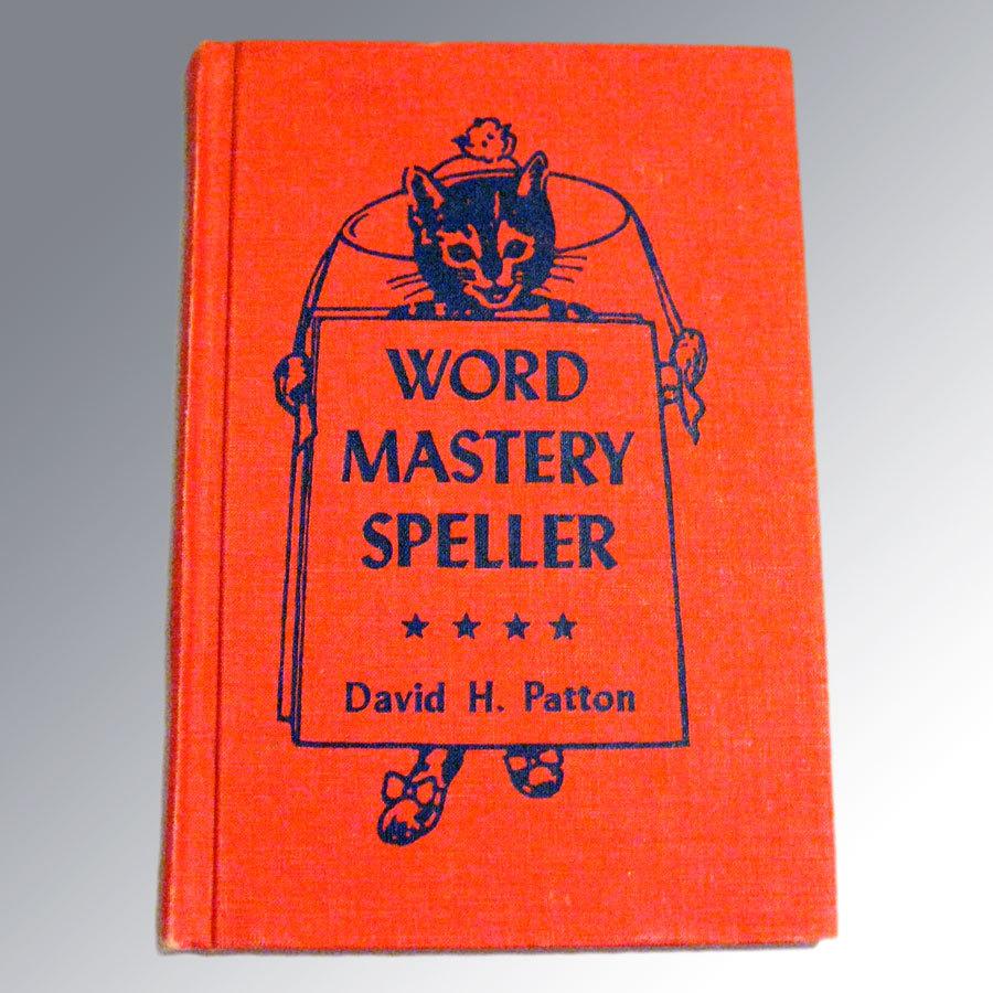 Word Mastery Speller Vintage Spelling Book