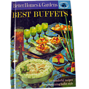 Better Homes and Gardens Best Buffets Vintage Book / Vintage Cookbook / Vintage Entertaining / Housewarming Gift