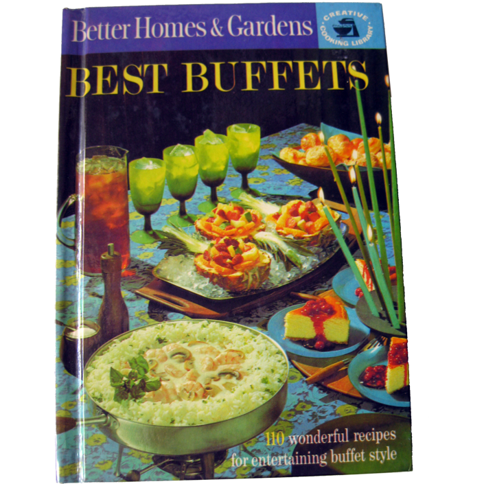 Better Homes and Gardens Best Buffets Vintage Book / Vintage Cookbook / Vintage Entertaining / Housewarming Gift