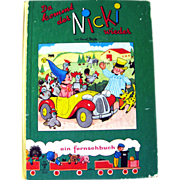 Enid Blyton Original Niki Noddy Book German Language 1962 / Noddy Book / Illustrated Childrens Book / Gift Book / Read Aloud Book