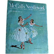 Tools Edit Promote Copy      Stats  McCalls Needlework Magazine Fall Winter 1953 / Knitting / Crochet / Home Arts / Craft / Pattern Book / Vintage Advertising