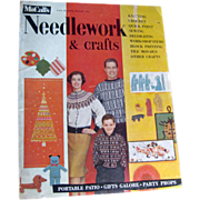 McCalls Needlework Magazine Fall Winter 1959 / Knitting / Crochet / Home Arts / Craft / Pattern Book / Vintage Advertising
