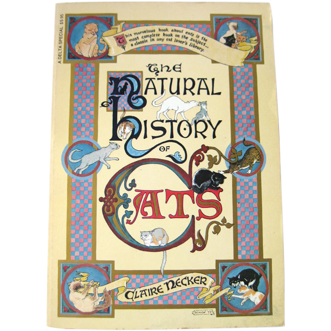 The Natural History Of Cats / Illustrated Book